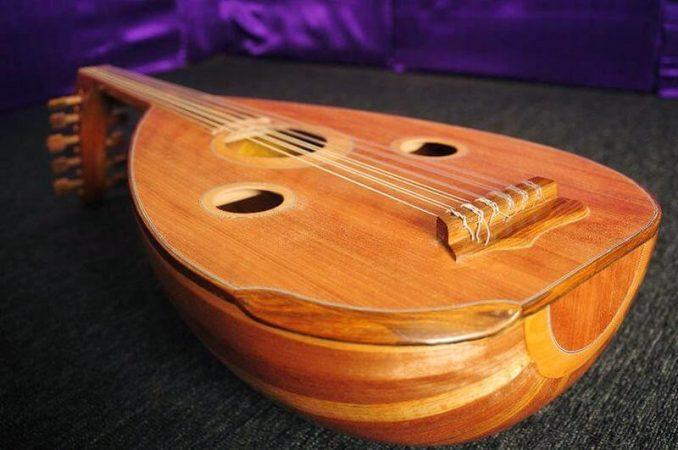 Alat musik tradisional Gambus