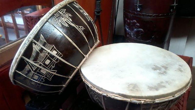 Alat musik tradisional Gendang Melayu