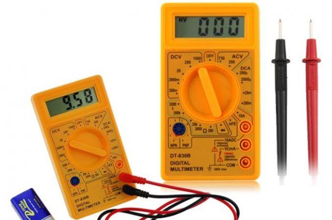Gambar Amperemeter