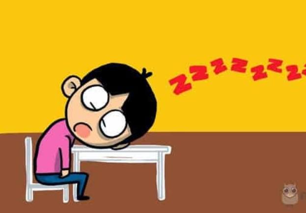 Gambar Kartun Lucu orang ngantuk