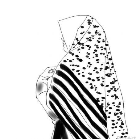 Animasi Gambar Kartun Hitam Putih Simple Ideku Unik