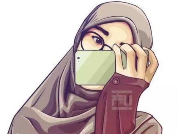 Contoh Gambar Muslimah Berhijab Ideku Unik