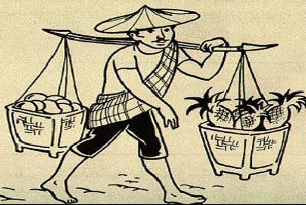 Gambar Kartun Pedagang Keliling