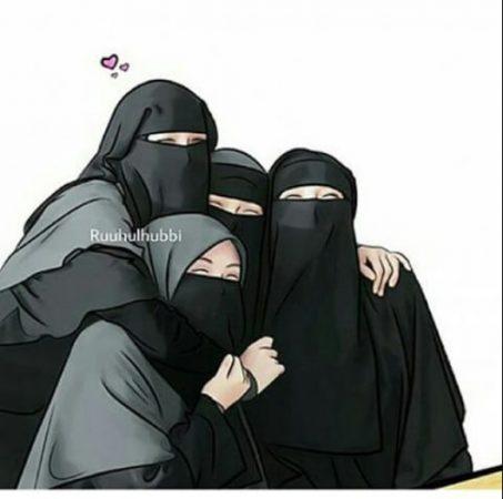 Kartun Muslimah Bersahabat
